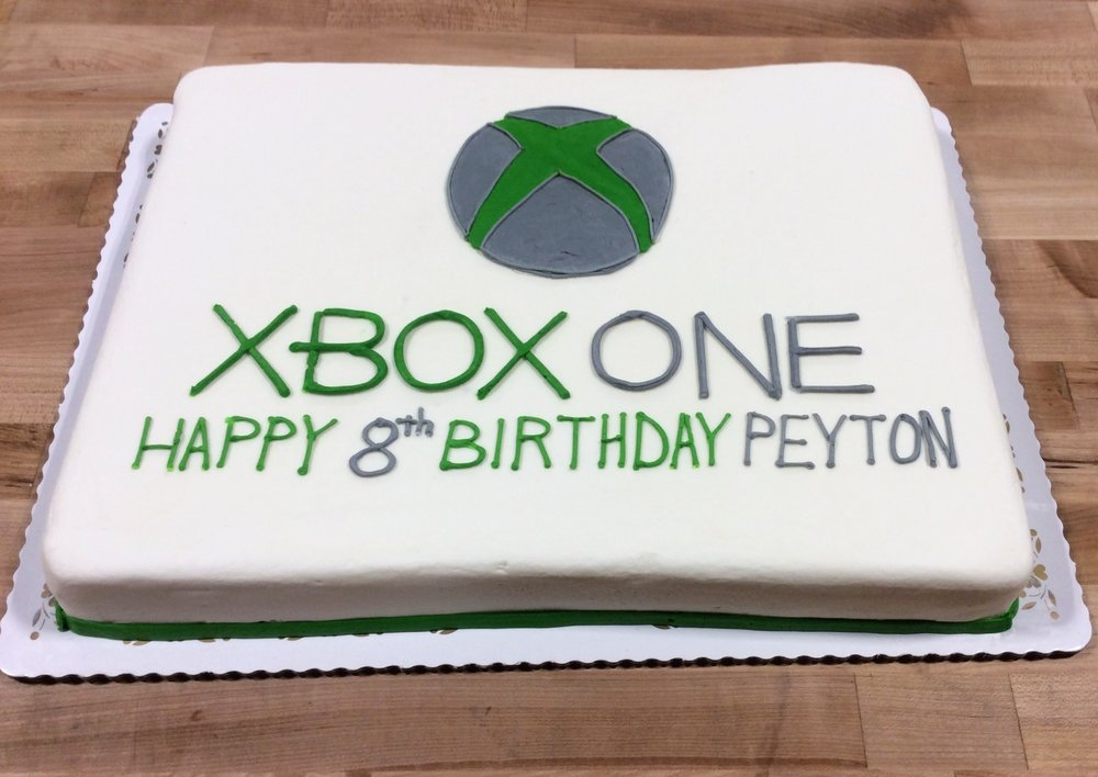 XBOX ONE Sheet Cake Trefzgers Bakery