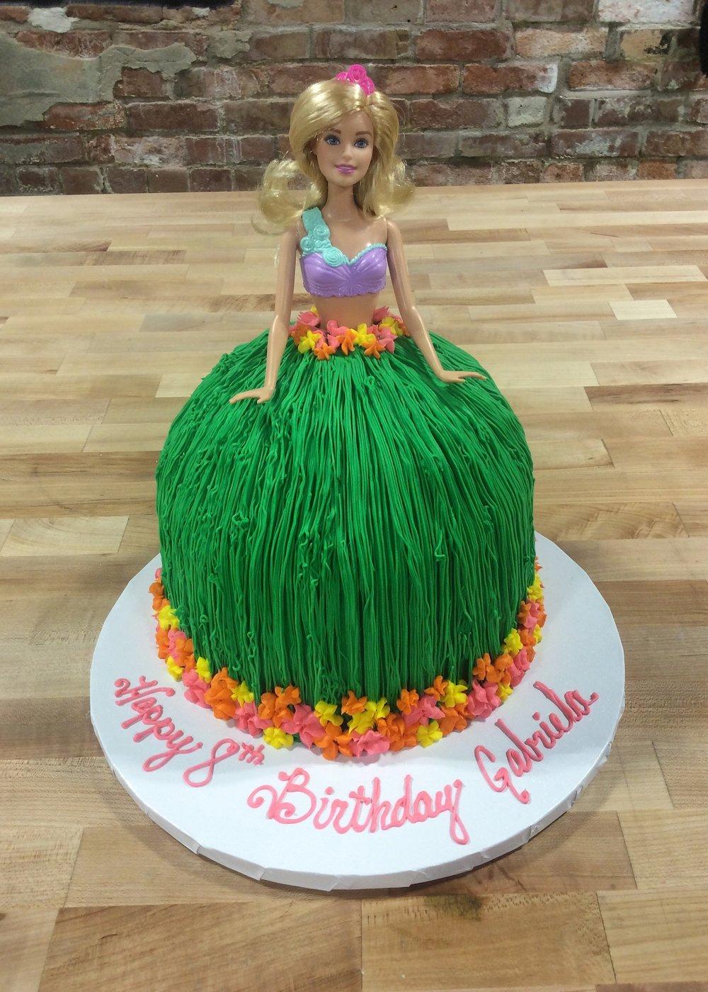 Hula Dress Cake