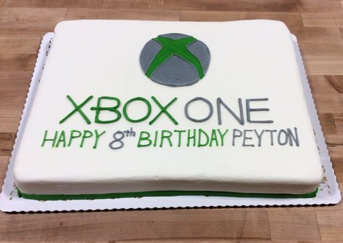 XBOX ONE Sheet Cake
