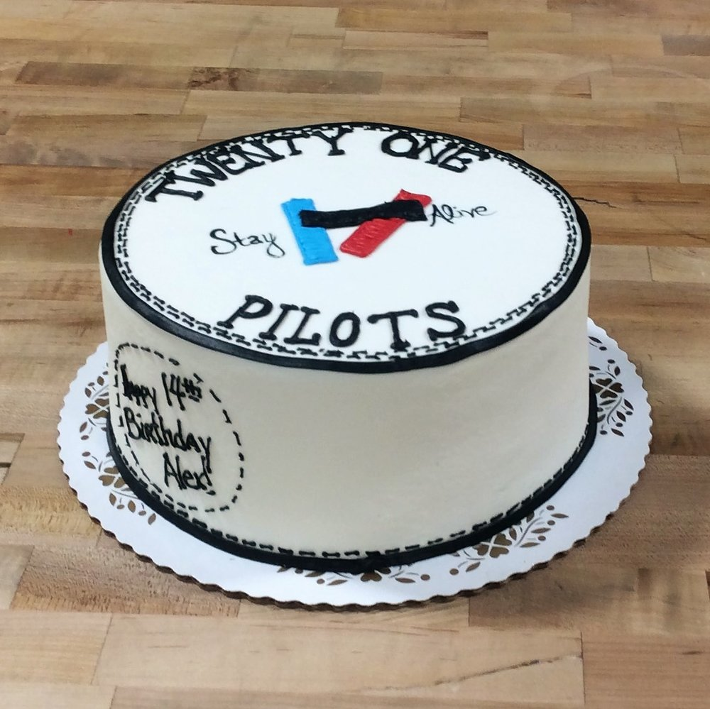 Twenty One Pilots Birthday Cake