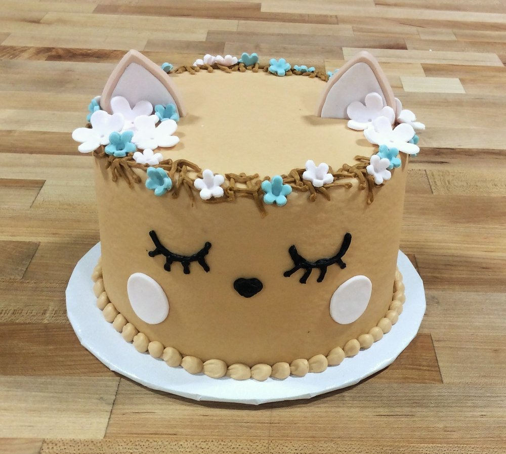 Little Deer Smash Cake with Cookie Ears