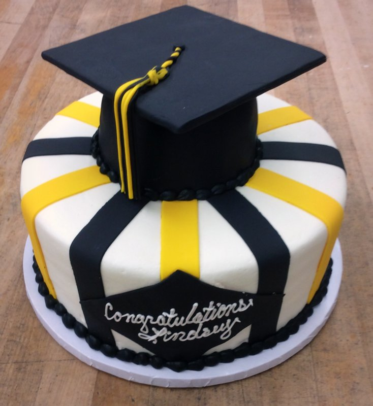 How To Make A Graduation Cap Cake Topper