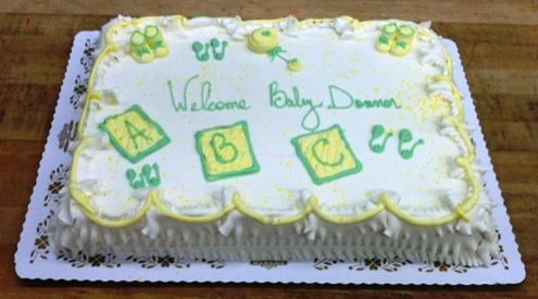 Baby Shower Decorated Cake Trefzger S Bakery
