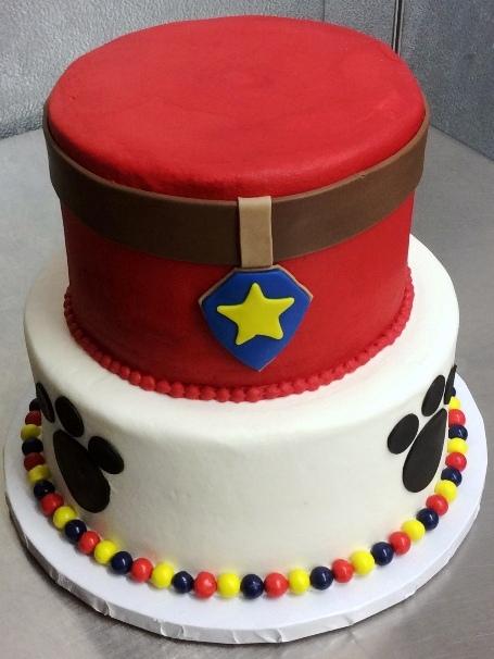 Paw Patrol Party Cake Trefzgers Bakery