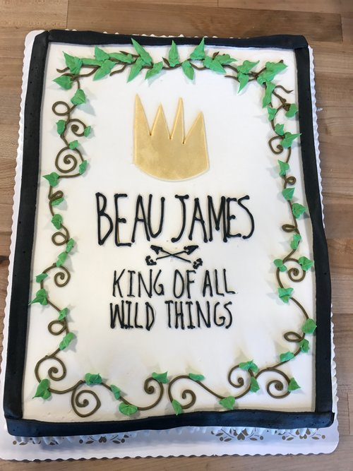Photo Of Nashville Sweets Where The Wild Things Are Sheet Cake