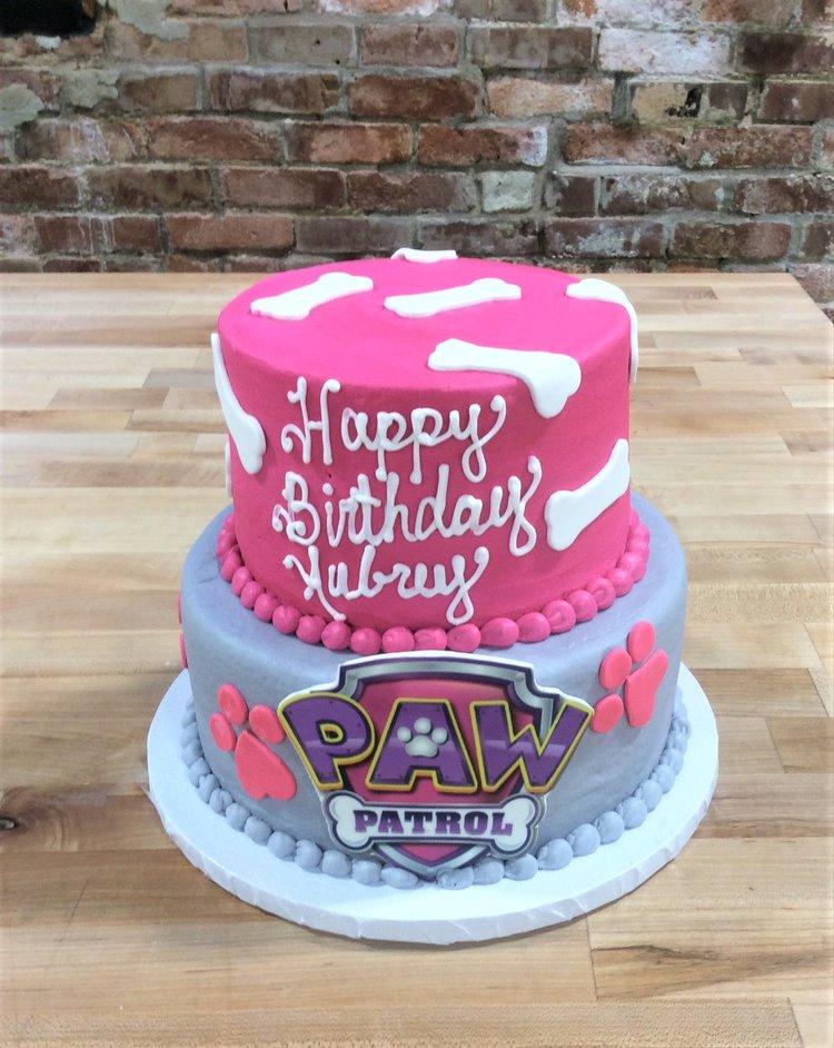 Girly Paw Patrol Party Cake Trefzger S Bakery