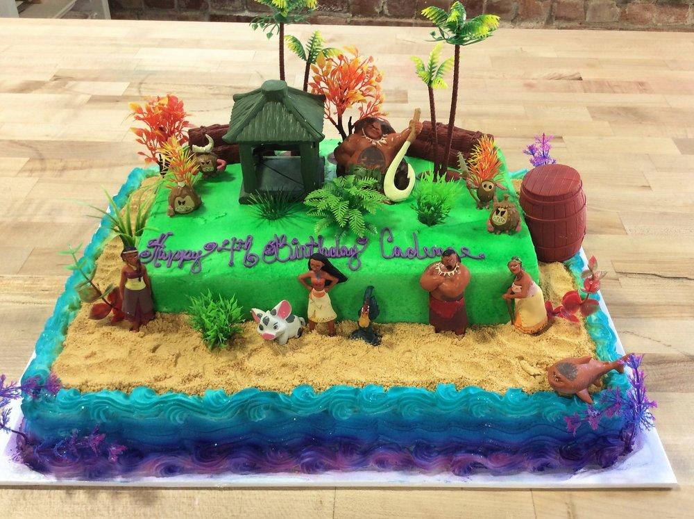 Moana Specialty Cake