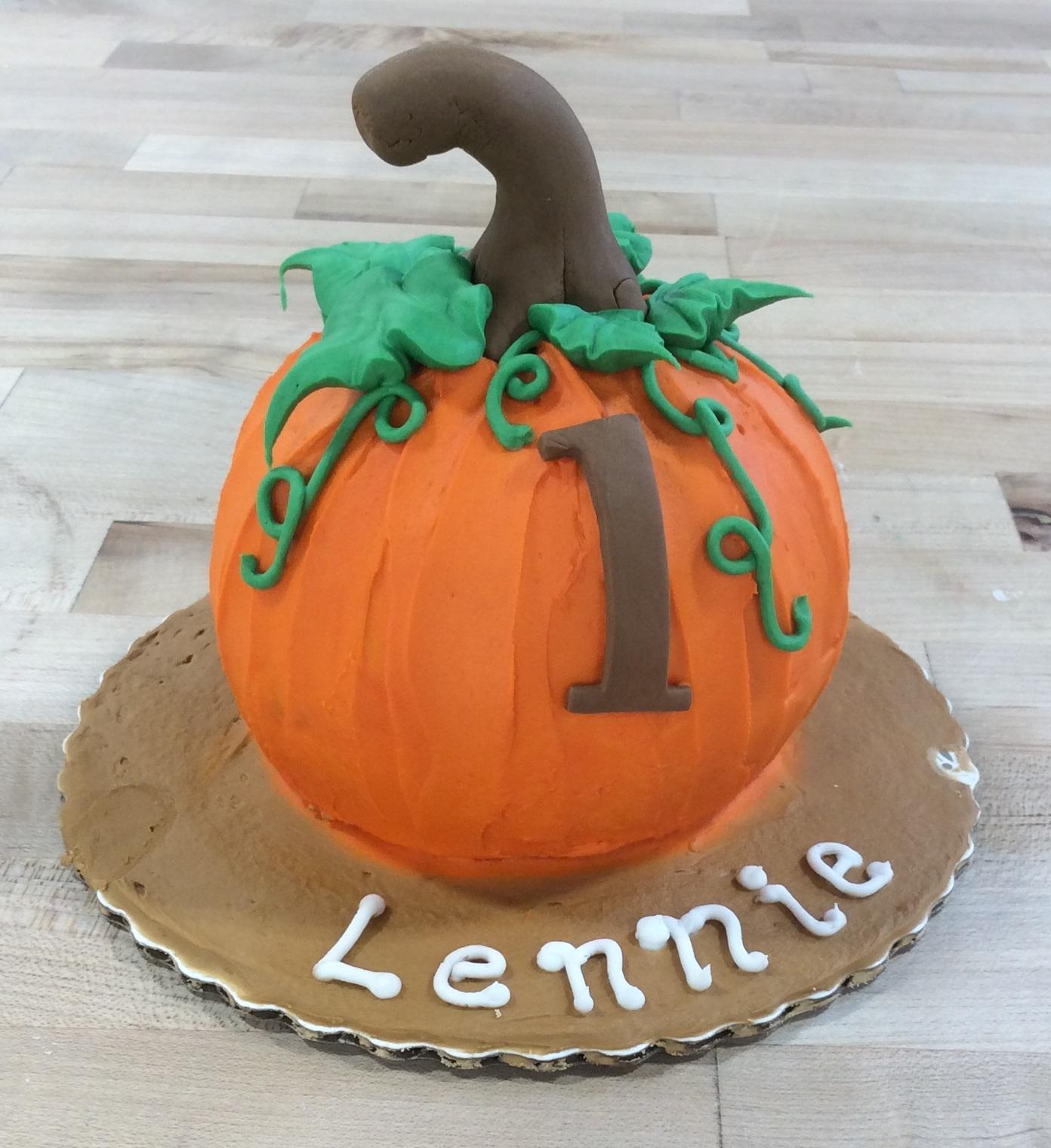 Pumpkin Smash Cake: Trefzger's Bakery
