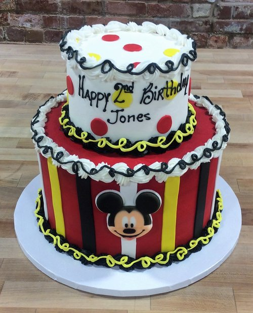 Mickey Mouse Party Cake — Trefzger's Bakery