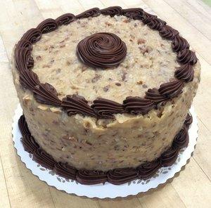German Chocolate Dessert Cake