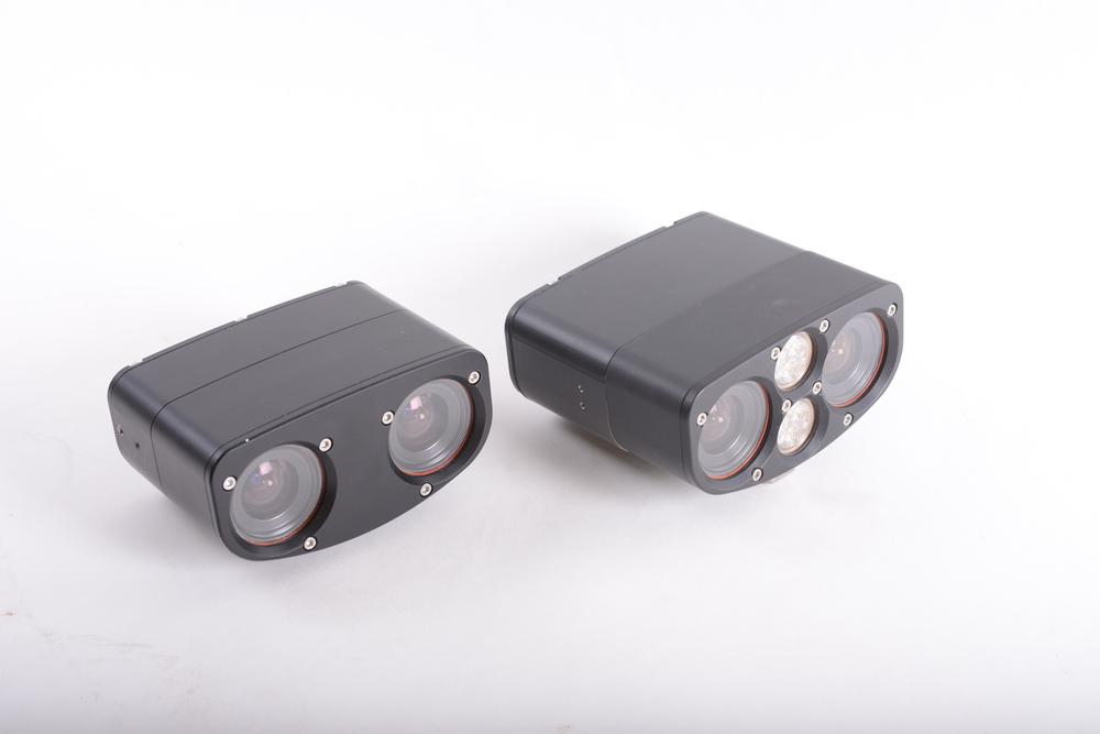 MultiSense S7S (left): Compact 3D Stereo and Video Sensor for Short Range Applications (customer provides lighting as needed).