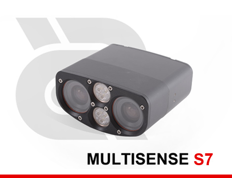 MULTISENSE S7 - 3D Stereo and Video Sensor for Short Range Applications (offered with visible or IR lighting).