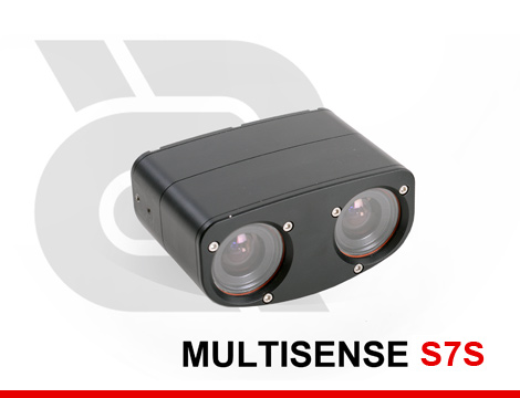 Compact 3D Stereo and Video Sensor for Short Range Applications (customer provides lighting as needed).