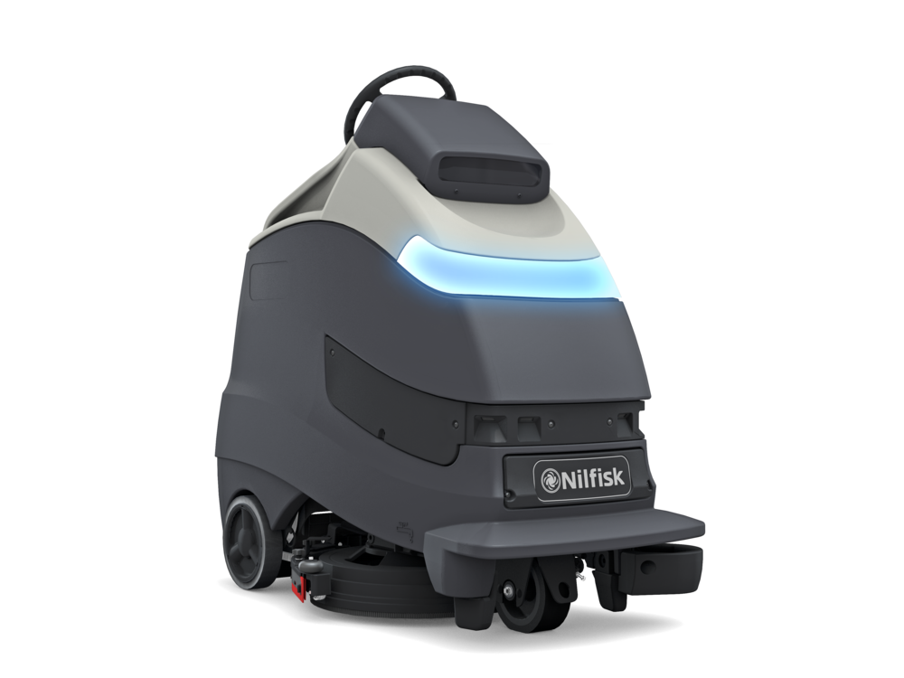 The Advance Liberty A50 is the cleaning industry's only stand-on scrubber/dryer that can be operated autonomously or manually