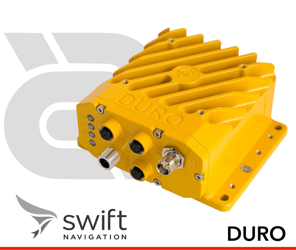 Ruggedized Multi-Band, Multi-Constellation Centimeter-Accurate GNSS.  Built for the outdoors, DURO combines centimeter-accurate positioning with military ruggedness at a breakthrough price.