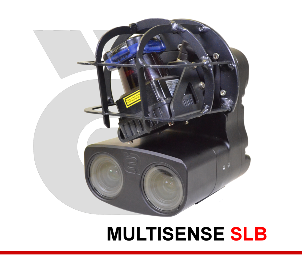 MULTISENSE SLB - Tri-modal Sensor (Laser, 3D stereo and Video) Combined in a Rugged Unit with Single GigE Output.