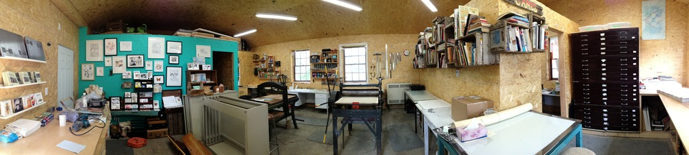 Inside the Print Studio