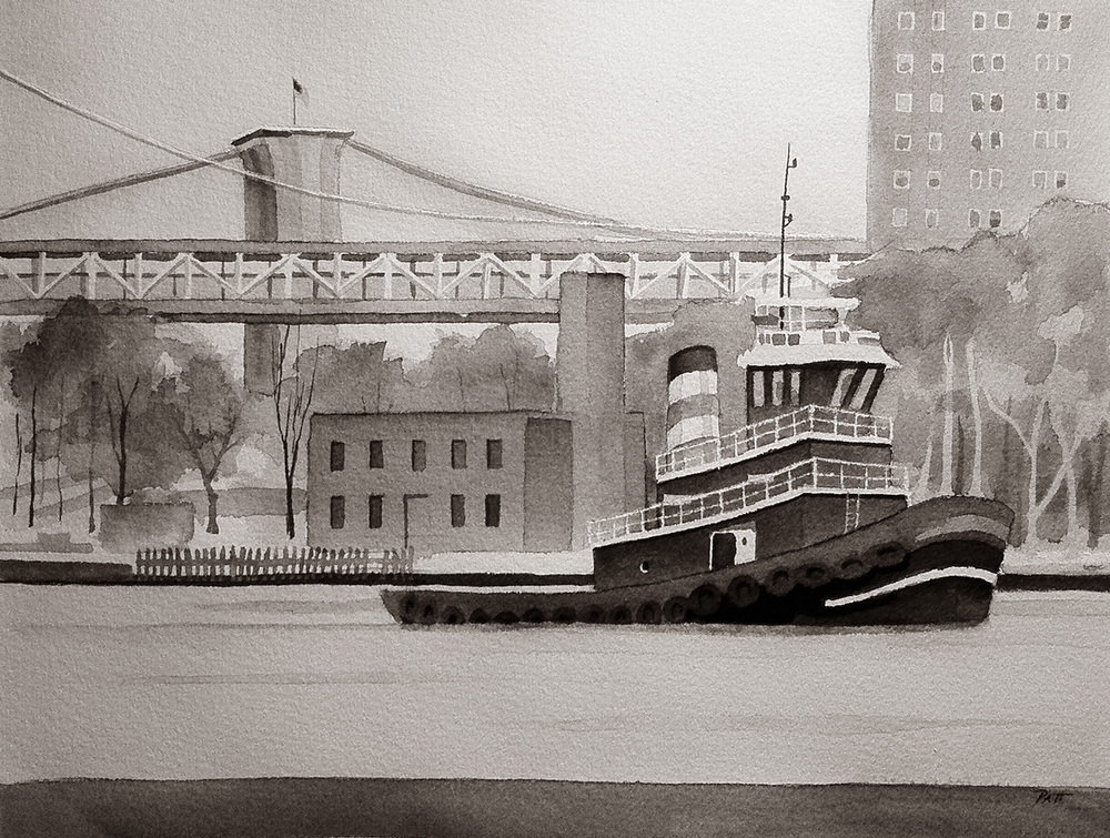 East River Tugboat
