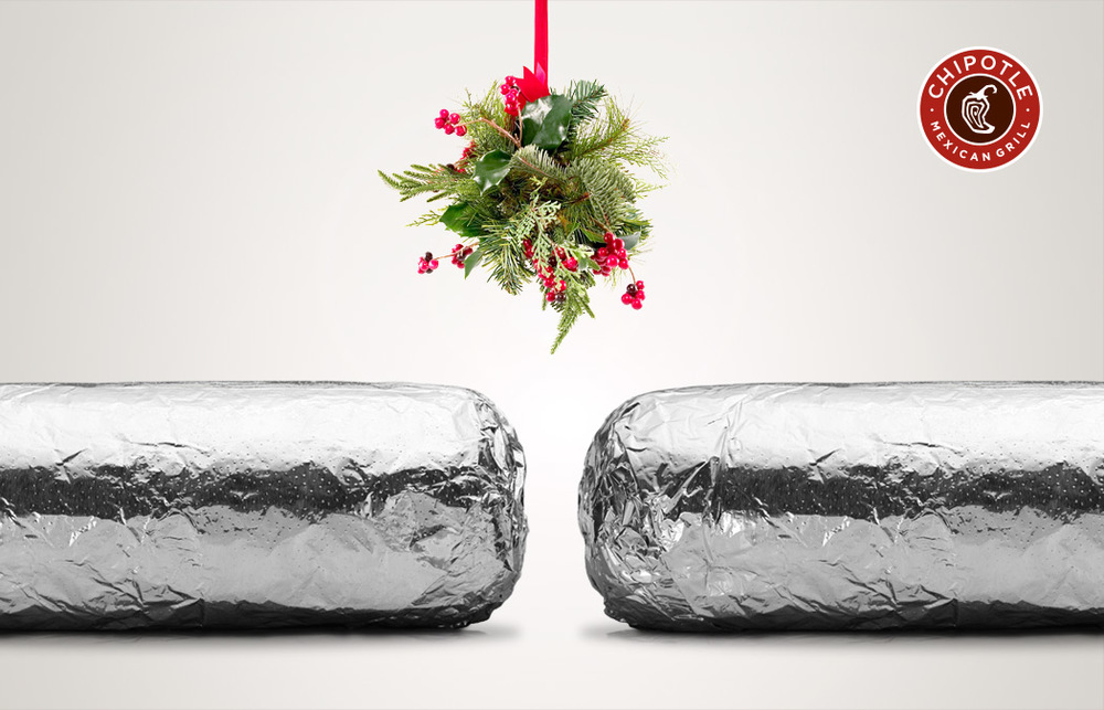 Kissing burritos.