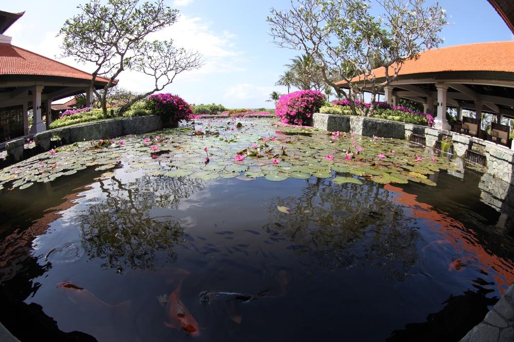 The lobby, Grand Hyatt Bali