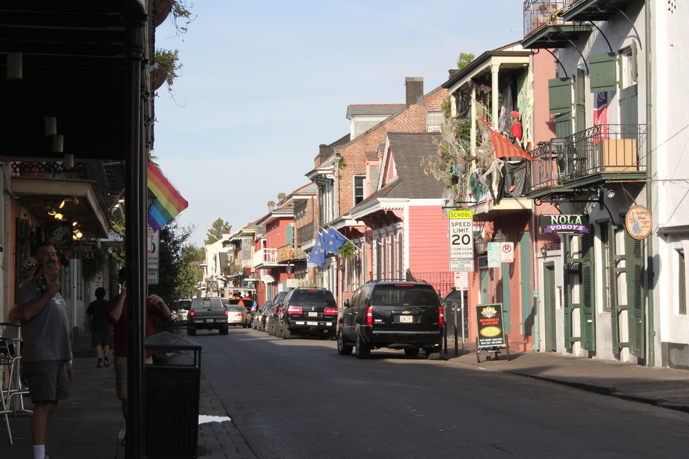 Streets of New Orleans, Louisiana
