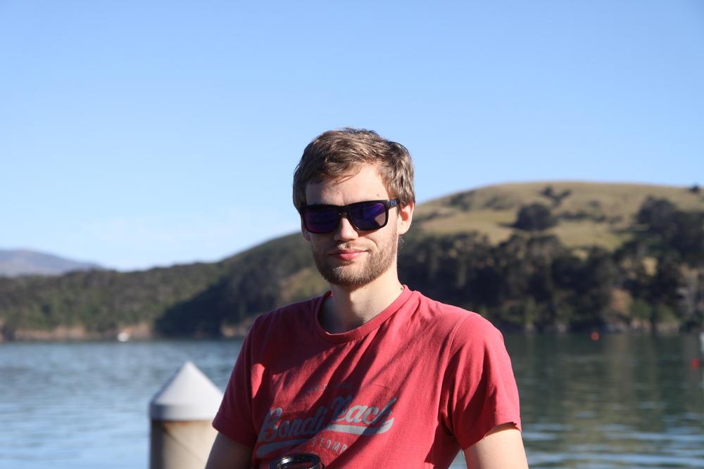 Magnar at Akaroa, New Zealand