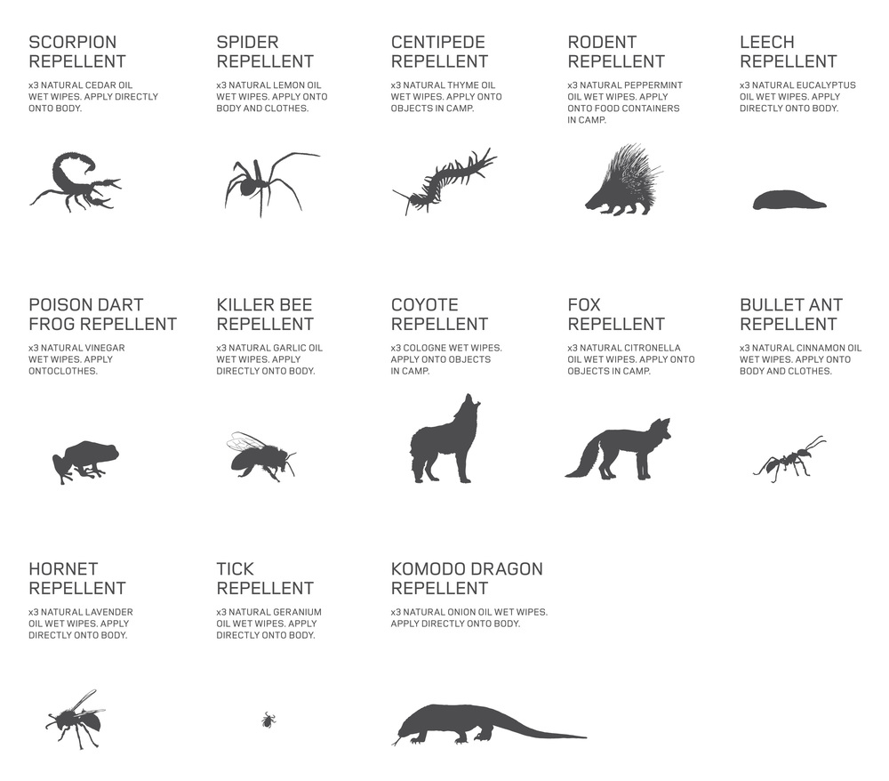 The Land Rover Personal Extinction Book - Animals and Insects Guide Chart