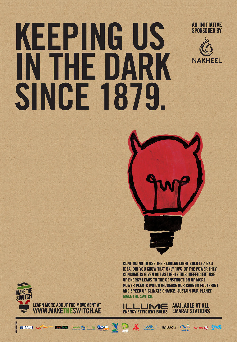 Keeping us in the dark since 1879.