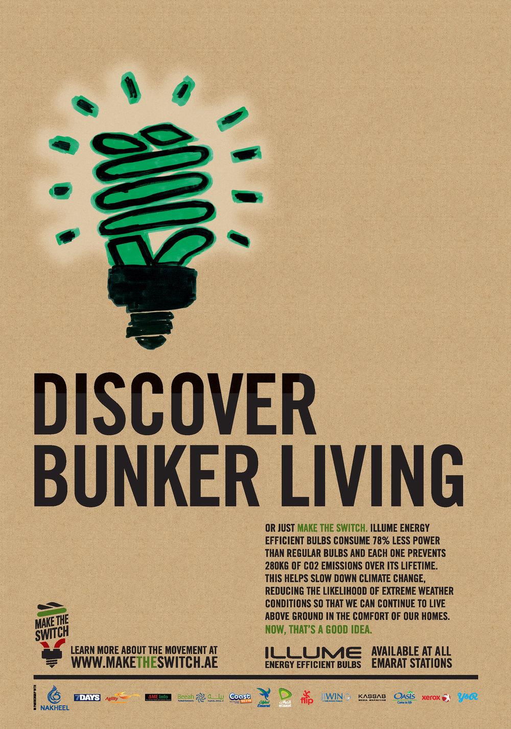 Discover bunker living.