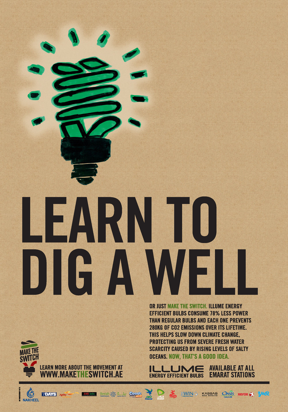 Learn to dig a well.