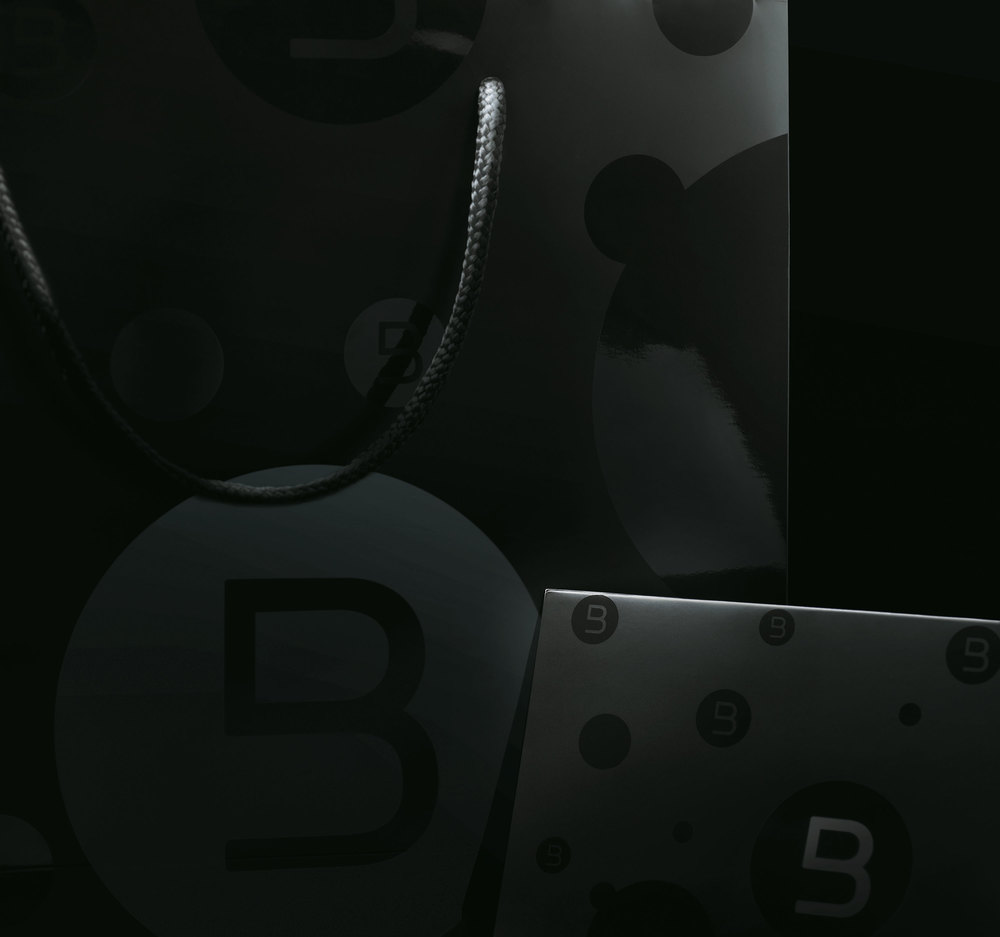 Entire range of collaterals were produced. Using the 'B-Mark', a wallpaper system was created. We called it the 'B-Hive'.