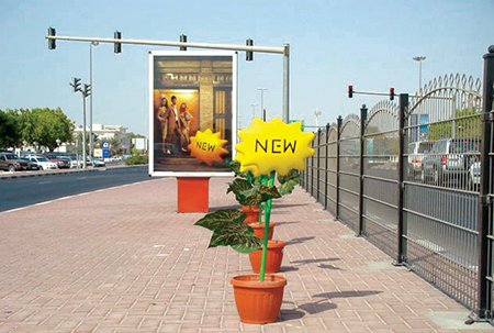Just like flower bloom in spring, hundreds of Kenny's dotted the streets of Dubai.