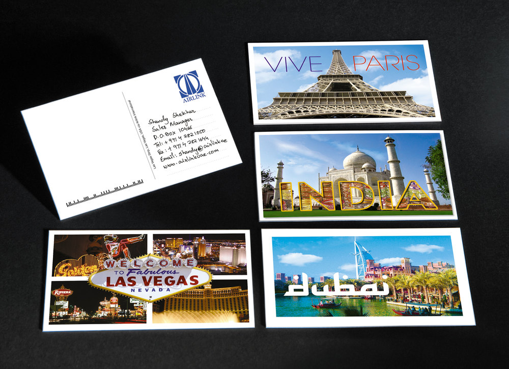 Airlink - Visiting Postcards — Book of Jobi™