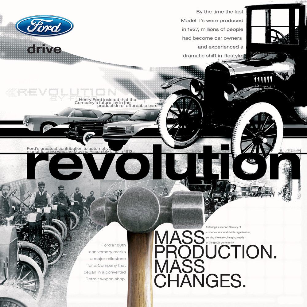 Ford Motor Show - Revolution