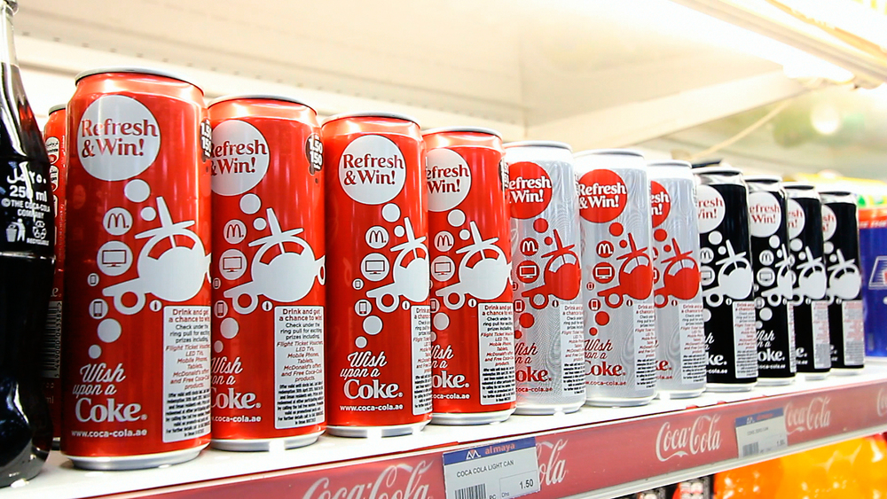 Coca-Cola - Wish Upon A Coke Can Wrap Design