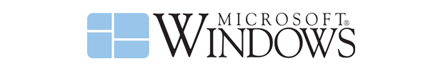 Logotipo original: Windows 1.0