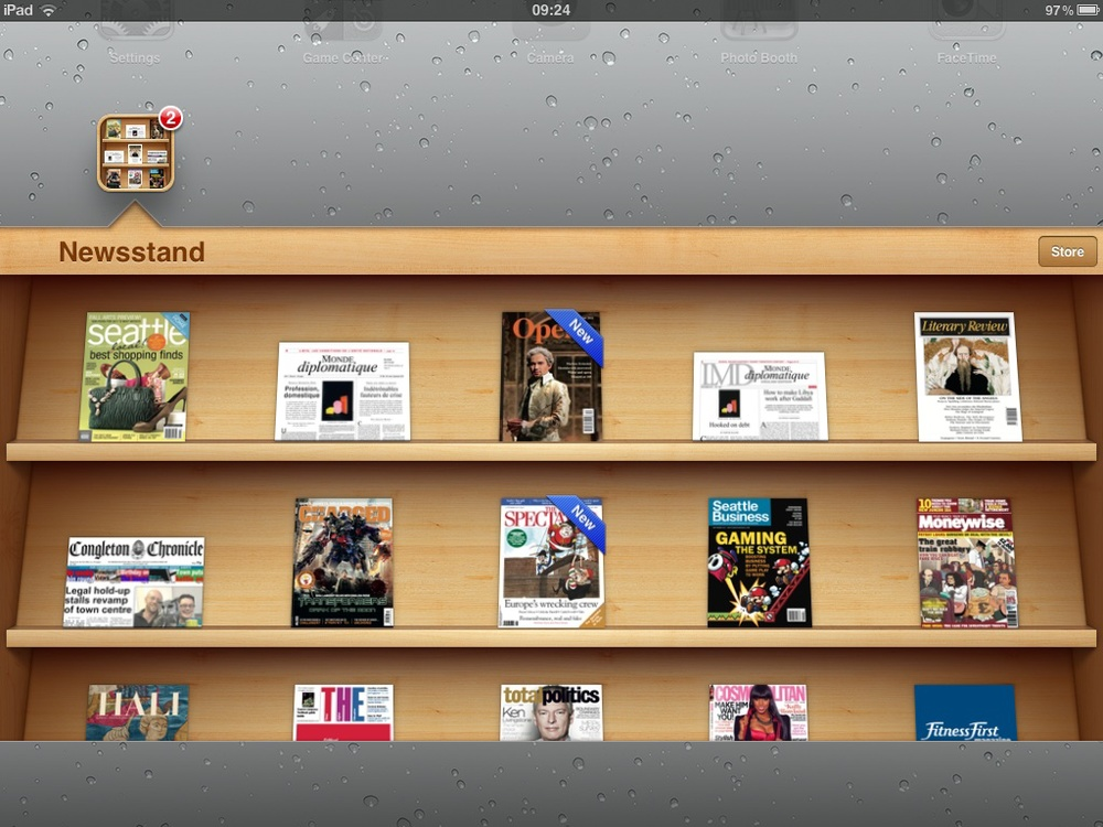 Quiosco, la app de iOS que simula un estante de revistas