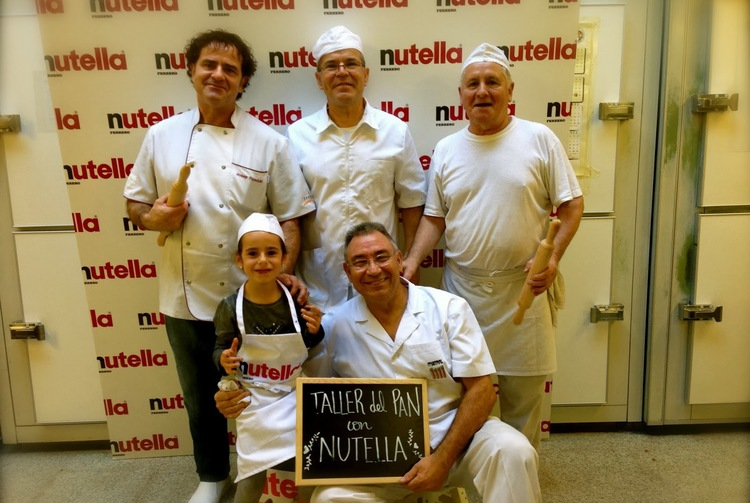 Concurso taller de pan con Nutella