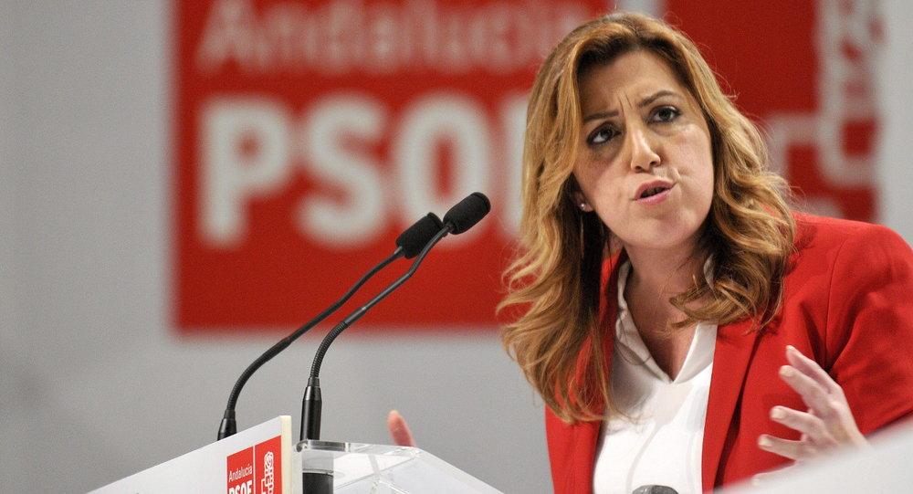 Susana Díaz PSOE crisis branding marca