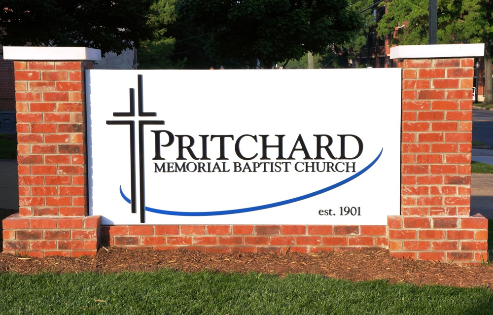 Pritchard Memorial Baptist Church Sign