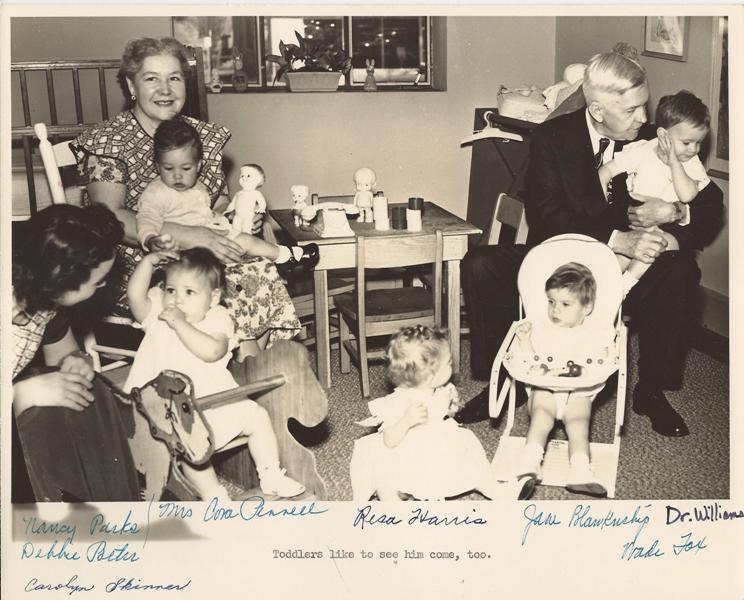 Dr.+Williams+with+toddlers,+Cora+Pennell+c.+mid-1950's.jpg