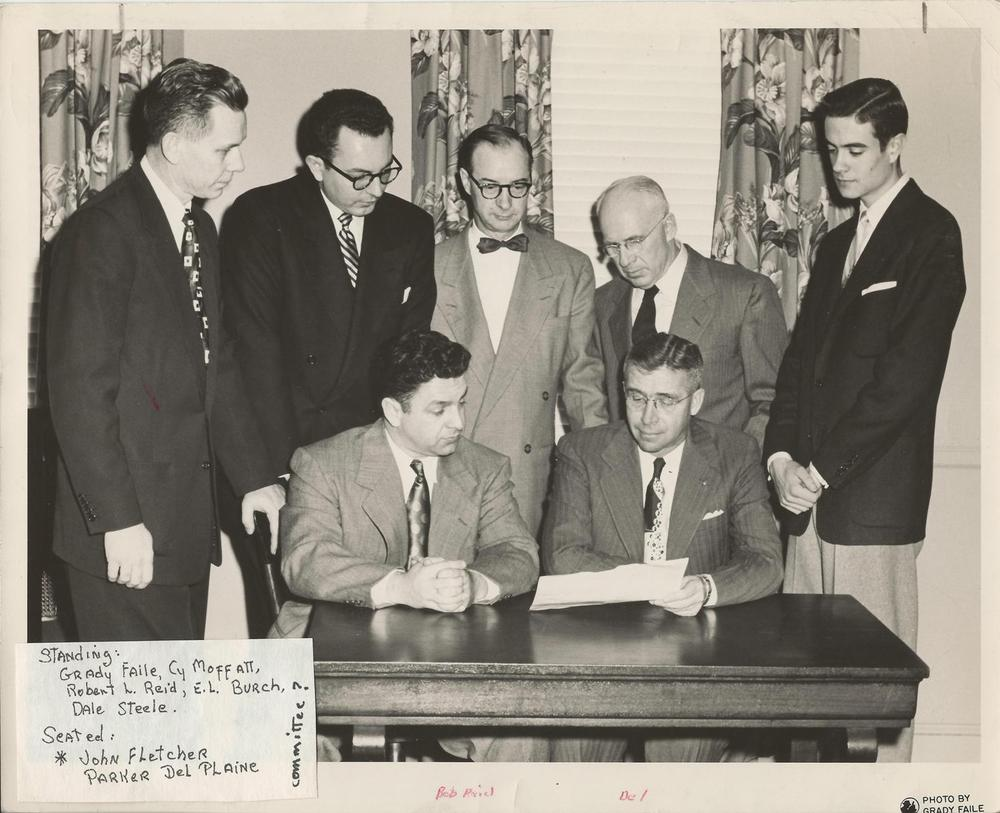 John+Fletcher,+Grady+Faile,+others+committee+meeting+c.+1950's.jpg