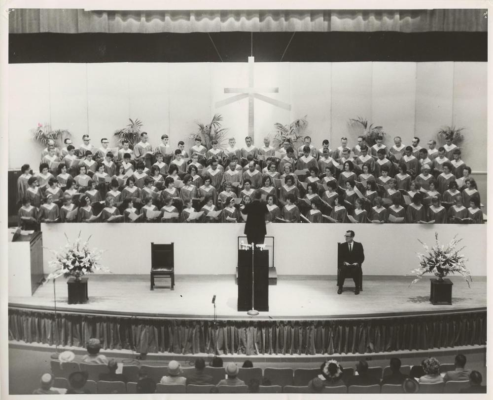 PMBC+Easter+Service,+stage,+at+Ovens+Auditorium+mid-1960's.jpg