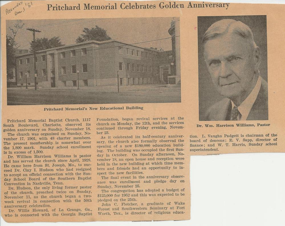 PMBC+late+1951+article+Fletcher+Bldg,+Dr.+Williams+pic.jpg