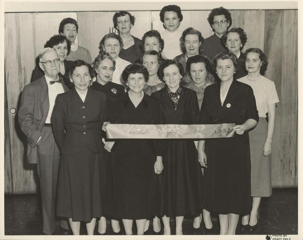 PMBC+Ruth+Class+February+1957,+Arzelle+Mitchell,+Dr.+Williams.jpg