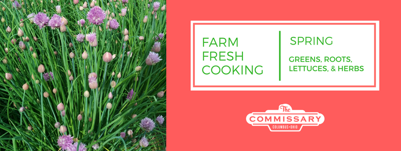 farm fresh cooking spring