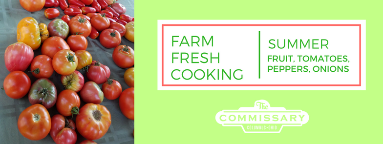 farm fresh cooking summer