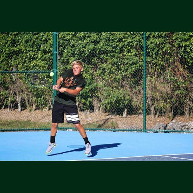 Hammer time! #tennis #greatkid #lovetennis #10s