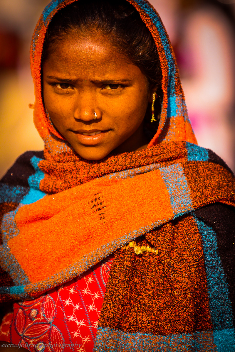 Young Vendor Kumbha   Mela Allahabad