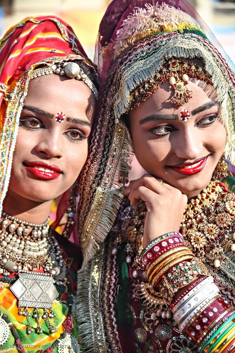 Pushkar two dancers red lips.jpg